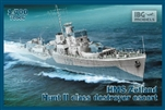 IBG MODELS 1/700 HMS Zetland 1942 Hunt II Class Destroyer Escort