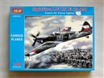 ICM 1/48  Spitfire LF.IX E (Czechoslovak AF Avia S-89) Czech Air Force Fighter