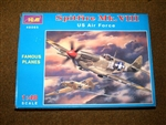 ICM 1/48 Spitfire Mk VIII US Air Force fighter