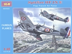 ICM 1/48  Spitfire HF.IX E 'Free French Air Force'