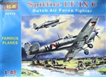 ICM 1/48 Dutch Air Force Fighter Spitfire LF. IX C