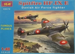 ICM 1/48 SPITFIRE HF.IX E DANISH AIR FORCE