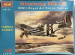 ICM 1/48 Mustang Mk.III WWII Royal Air Force Fighter