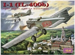 ICM 1/72 I-1 (IL-400b) First Soviet Fighter-Monoplane