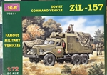 ICM 1/72 ZIL-157 SOVIET COMMAND VEHICLE