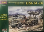ICM 1/72 SOVIET MULTIPLE LAUNCH ROCKET SYSTEM BM-14-16