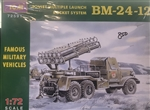 ICM 1/72 SOVIET MULTIPLE LAUNCH ROCKET SYSTEM BM-24-12