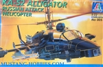 ITALERI 1/72 KA-52 ALLIGATOR RUSSIAN ATTACK HELICOPTER