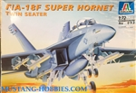ITALERI 1/72 F/A-18F Super Hornet Twin Seater
