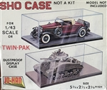 JO-HAN 1/72 Dustproof Display Case SHO Case TWIN PACK