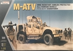 KINETIC 1/35M-ATV mine resistant ambush protected all-terrain vehicle