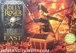 Lindberg 1/12 Jolly Roger Freebooter's Last Leg Diorama: Pirate, Treasure Chest & Stone-Type Base