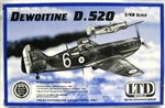 LTD MODELS 1/48 Dewoitine D.520