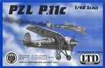 LTD MODELS 1/48 PZL P.11c