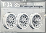 MAQUETTE 1/35 T-34-85 WHEELS SET LATE PRODUCTION