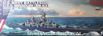 MENG 1/700 U.S. Navy Battleship Missouri (BB-63)