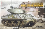 MENG 1/35 M4A3(76)W Sherman US Medium Tank