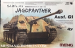 MENG 1/35 SdKfz 173 Jagdpanther Ausf G1 German Tank Destroyer