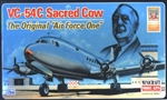 "MINICRAFT 1/144 VC-54C Sacred Cow The Original ""Air Force One"""