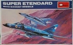 Minicraf 1/72 Dassault-Breguet Super Etendard French Naval Attack Fighter