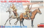 MINIART 1/35 US Horsemen Normandy 1944 (2 Mtd)