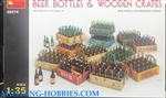 MINIART 1/35 Beer Bottles & Wooden Crates