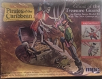 MPC 1/12 Walt Disney's PIRATES OF THE CARIBBEAN Ghost of the Treasure Guard
