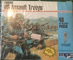 MPC 1/72 Modern US ASSAULT TROOPS