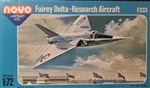 NOVO 1/72 Fairey Delta-Research Aircraft