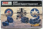MONOGRAM PRO MODELER 1/48 WWII Ground Support Equipment