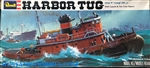 Revell 1/08 Harbor Tug with Captain & Two Crew Figures