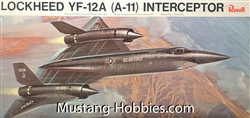Revell 1/72 Lockheed YF-12A (A-11) Interceptor World's Most Advanced Piloted Aircraft