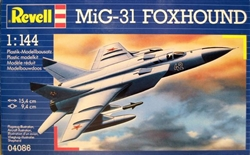 REVELL GERMANY 1/144 MiG-31 FOXHOUND