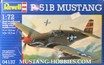 Revell Germany 1/72 North American P-51B Mustang