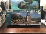 REVELL GERMANY 1/144 Submarine U-Boot Class 214