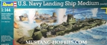 REVELL GERMANY 1/144 U.S. Navy Landing Ship Medium (early)
