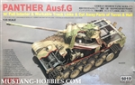 RYEFIELD MODELS 1/35 Panther Ausf.G with full interior & cut away parts & workable track links