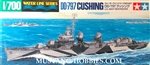 Tamiya 1/700 USS Cushing DD797 Fletcher Class Destroyer Waterline