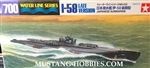 Tamiya 1/700 Japanese Submarine I-58 Late Version Waterline Series