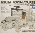 TAMIYA 1/35 US Cargo Truck Accessories