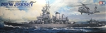 Tamiya 1/350 U.S. Battleship BB-62 New Jersey