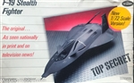 TESTORS 1/72 F-19 Stealth Fighter