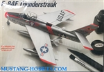 TESTORS/ITALERI 1/72 F-84F Thunderstreak