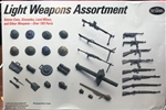 TESTORS/ITALERI 1/35  Light Weapons Assortment Ammo cans, Grenades, Land Mines, and other weapons