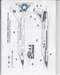 TIGER WINGS DECALS 1/48 PLA AIR FORCE FJ-7/FBC-1