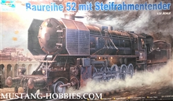 Trumpeter 1/35 WWII German BR52 Kriegslocomotive Armored Steam Locomotive