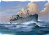 TRUMPETER 1/700  French Jean Bart Battleship 1955