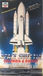 UNION 1/288 Space Shuttle Columbia & Rocket