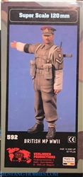 VERLINDEN PRODUCTIONS 120mm BRITISH MP WWII