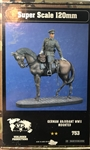 VERLINDEN PRODUCTIONS 120MM GERMAN ADJUDANT WWII MOUNTED